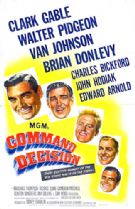Command Decision 1948 DVD - Clark Gable / Walter Pidgeon